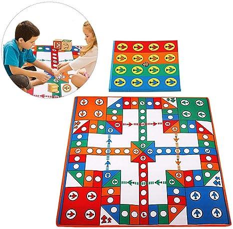 Esterilla de juegos para niños con diseño de ajedrez, ideal para juegos de mesa: Amazon.es: Bebé