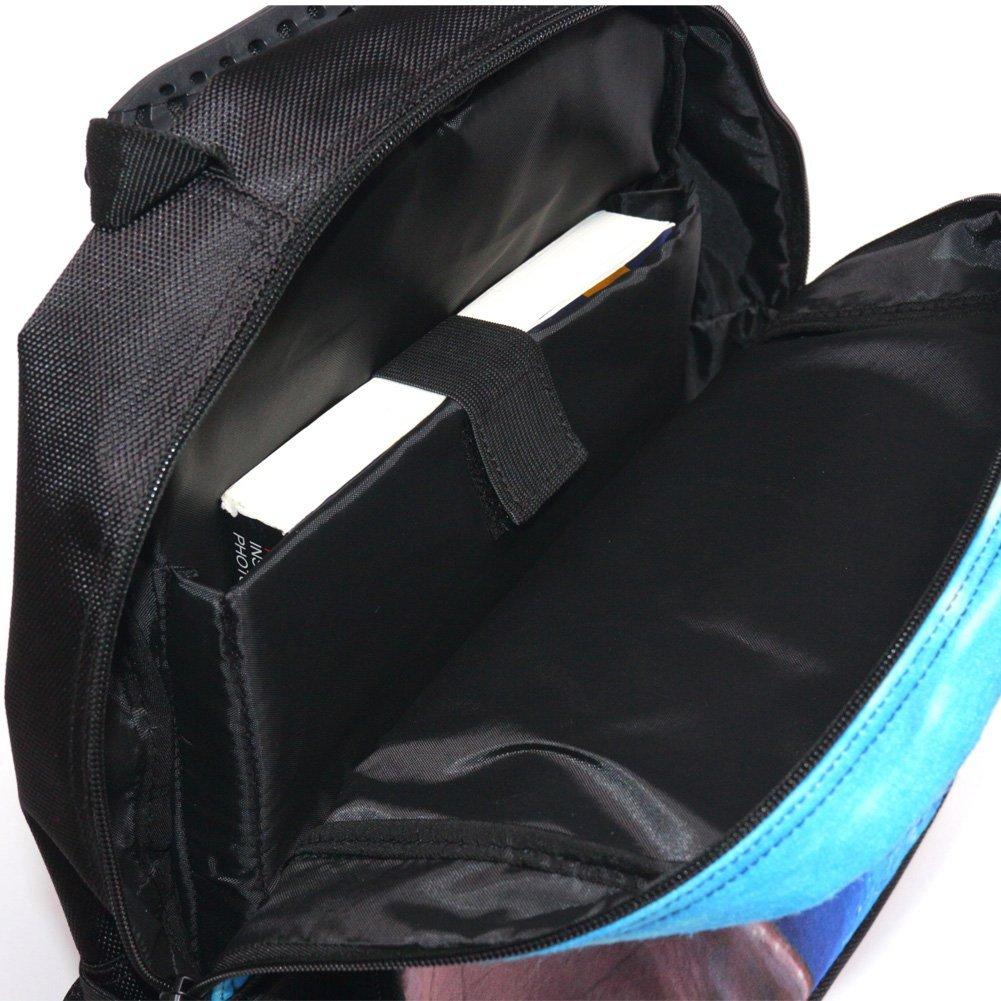 Skymoon Childrens 3D Animal School Backpacks (16 Inch,Shark) by SKYMOON (Image #3)