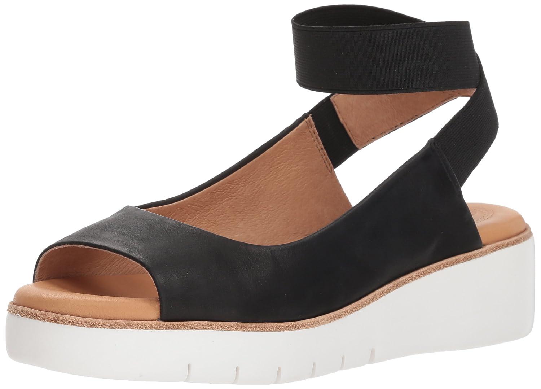 Corso Como Women's Cc-Beeata Wedge Sandal B07CHWKWMM 4.5 B(M) US|Black