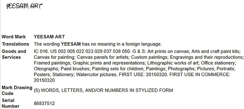 /Needlework cadeaux de No/ël /Automne Loup 14/fils 44/x 49/cm Blanc sur toile/ YEESAM Art/® nouveaux Kits de point de croix Advanced/