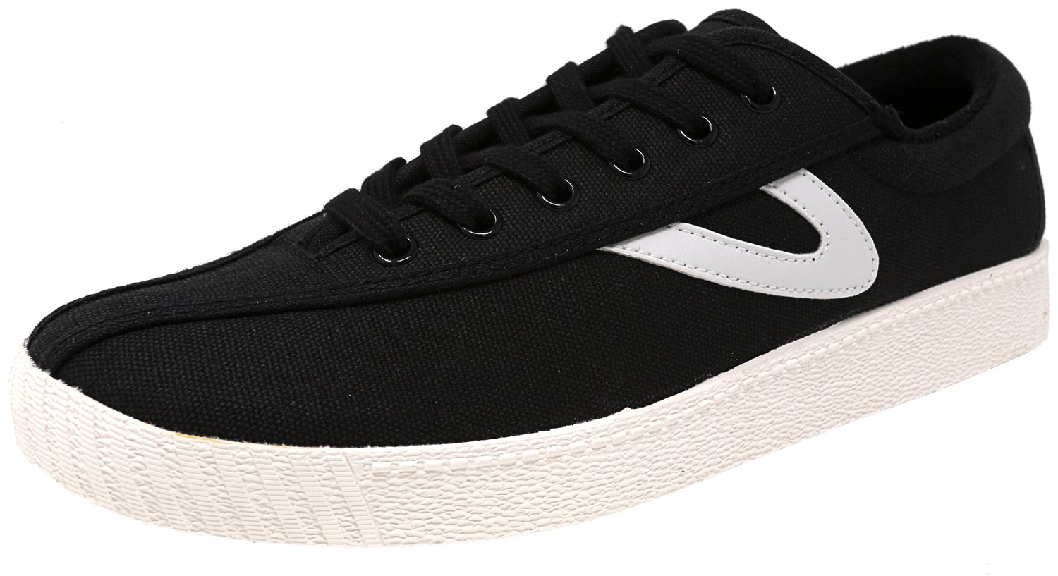 Tretorn Women's Nylite Plus Fashion Sneaker B01G61NMJC 7 B(M) US|Black/Black/White