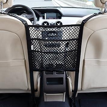 Nylon Mesh Car Seat Storage Organizer Safe Driving Accesseries Baby Pet Fence