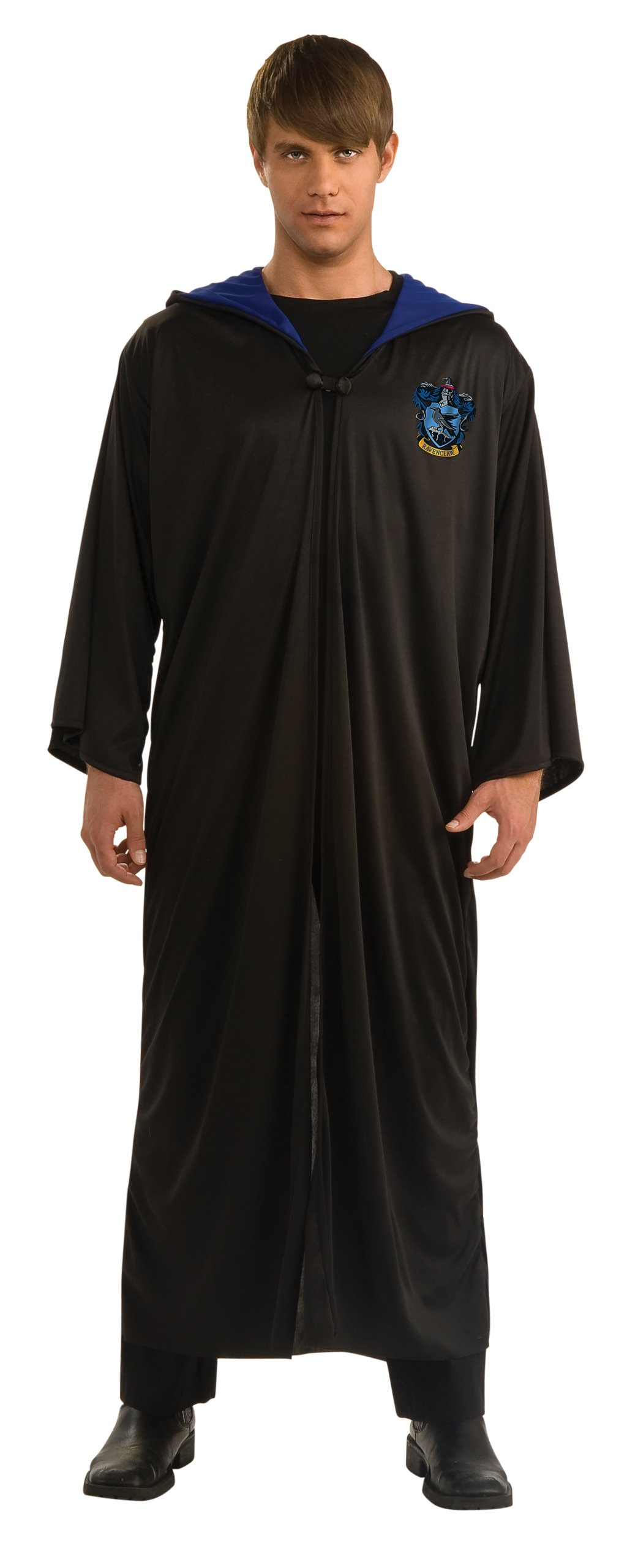 Harry Potter Adult Ravenclaw Robe, Black, X-Large Costume