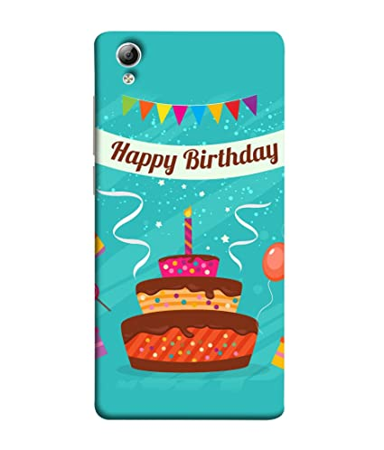 VIVo Y51 VIVo Y51L Back Cover Abstract Happy Amazonin Electronics