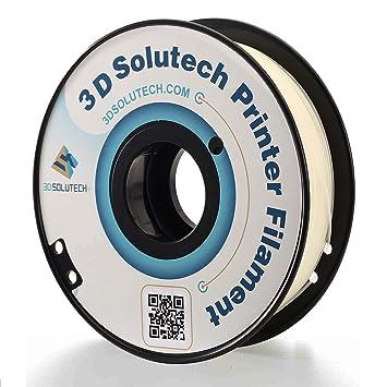 3D Solutech Impresora 3D PLA Filamento 1.75MM Filamento, 2.2 LBS ...