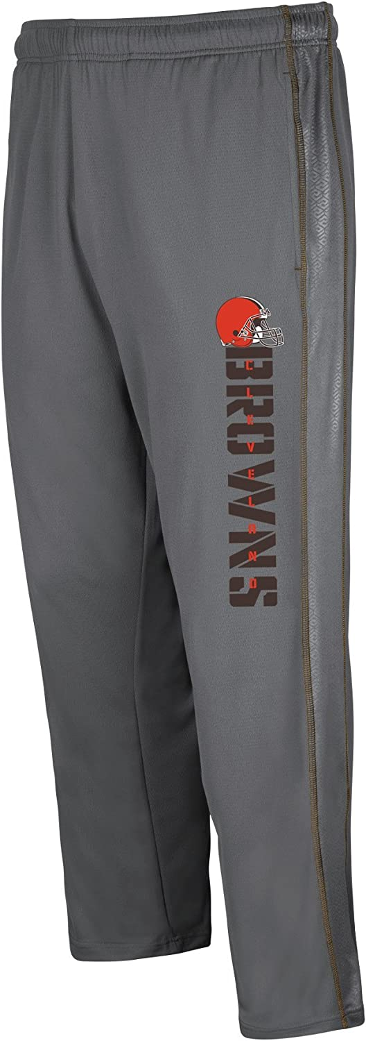 NFL Team Apparel Mens Browns Matching Poly Pant