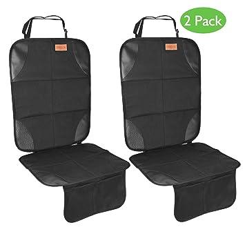 Amazon.com: DINOKA Protector de asiento de coche, 2 unidades ...