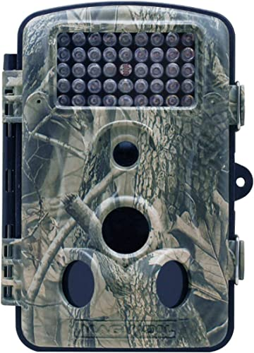 Maginon Trail Camera with Mount 12MP, 1080P, 2.4 TFT Display Motion Activated Game Hunting Cam with 44 Infrared LEDs for Wildlife Animal Scouting Night Vision up to 65ft 20m IP54 Waterproof