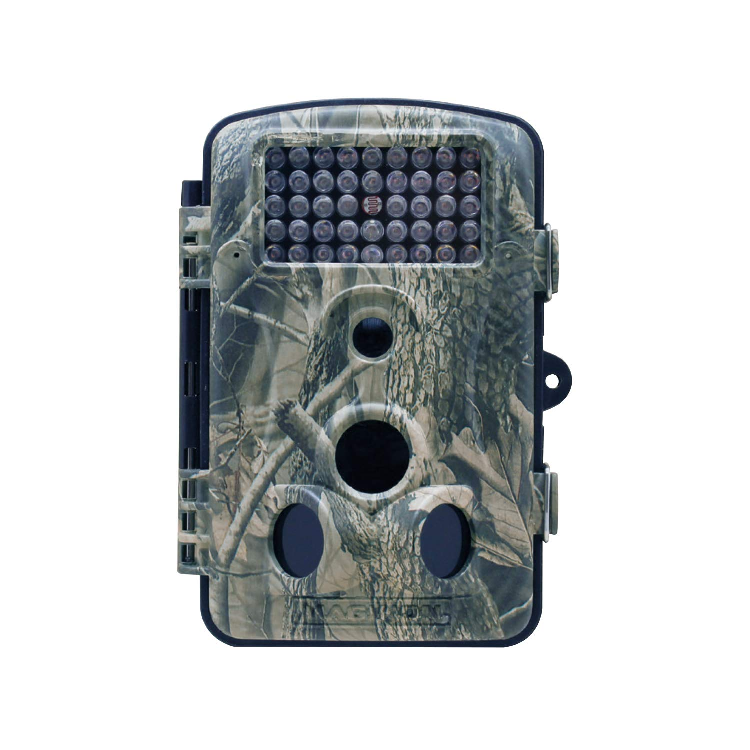 Maginon Trail Camera 12MP, 1080P, 2.4 TFT Display Game Hunting Camera with 44 IR LEDs for Wildlife Animal Scouting and Digital Surveillance Night Vision up to 65ft 20m IP54 Waterproof