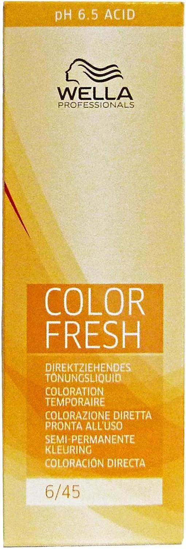 Wella Tinte Color Fresh 4/07-75 ml