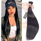 "QTHAIR 10A Water Wave Brazilian Human Hair Bundles(12"",100g,Natural Black)100% unprocessed Brazilian Virgin Water Wave Human Hair Weave"