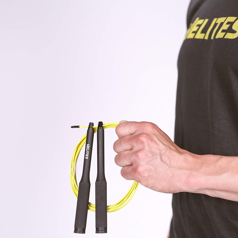Speed Jump Rope Veloce con pesi Body Building Pugilato MMA Non incluso per Fitness Boxe Corda per saltare Crossfit Vropes Fire 2.0 Kamo Special Edition da VELITES