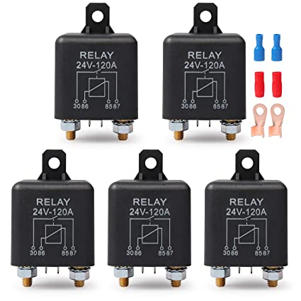 12V 120A HEAVY DUTY SPLIT CHARGE ON//OFF RELAY CAR VAN BOAT 4 PIN