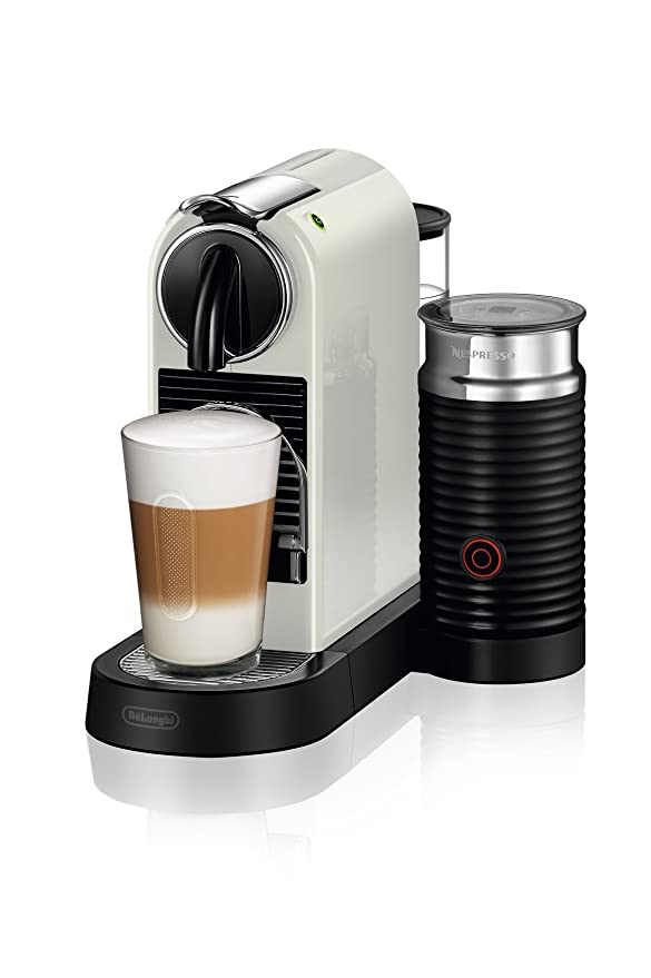 DeLonghi Nespresso Citiz EN267.WAE Cafetera con cápsulas, sistema ...