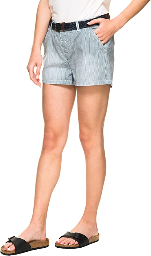 TALLA L. Superdry Women's Almalfi Striped Shorts
