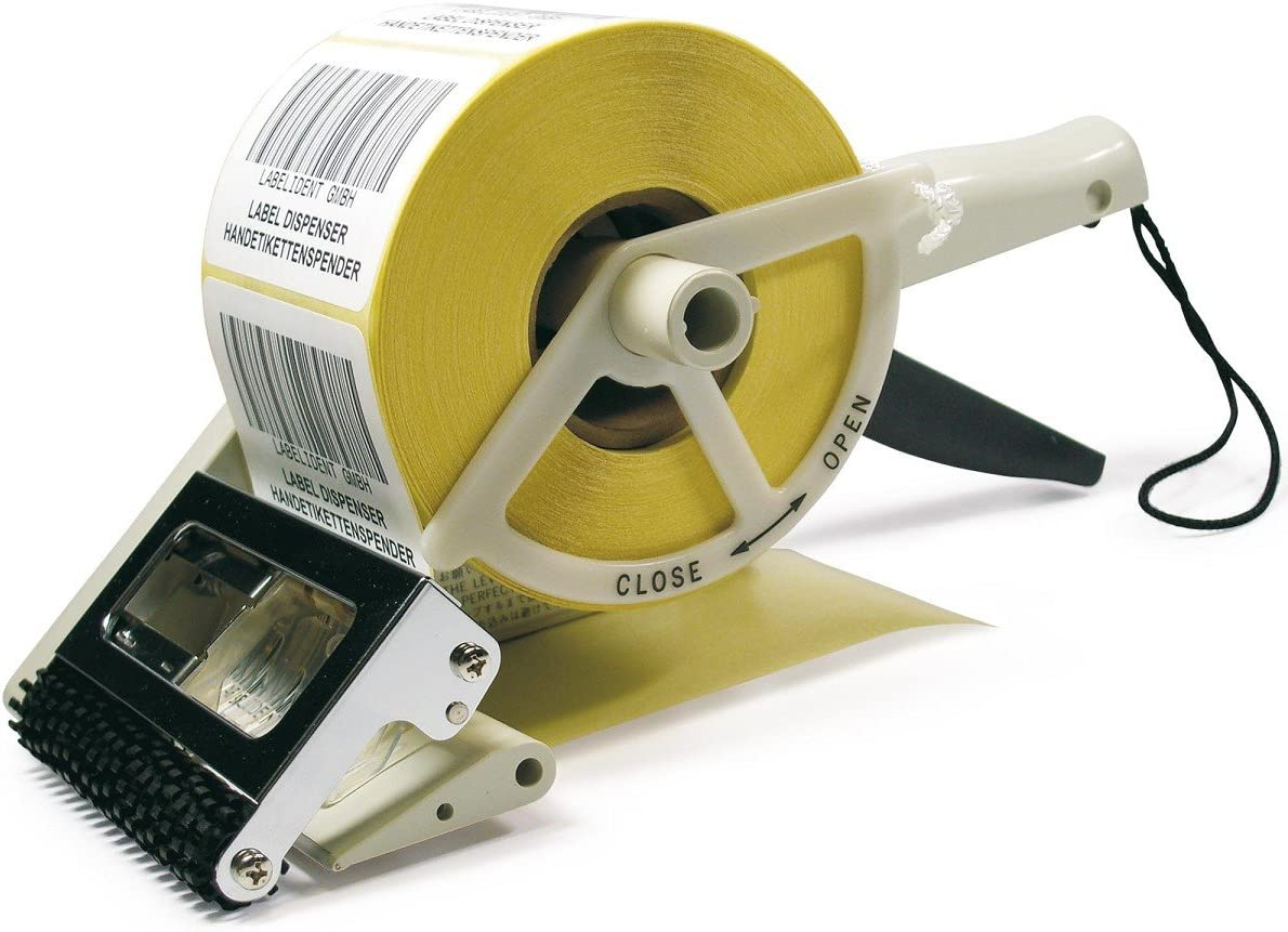 Te de Office Towa etiquetas mano Dispensador Dispensador de etiquetas mano etiqueta dispensador de pl/ástico para etiquetas adhesivas manual 25/hasta 60/mm