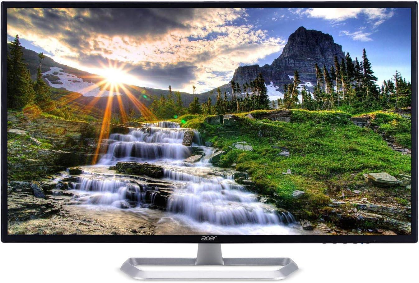 Amazon Com Acer Eb321hqu Cbidpx 31 5 Wqhd 2560 X 1440 Ips Monitor Display Port Hdmi Dvi Port Black Computers Accessories