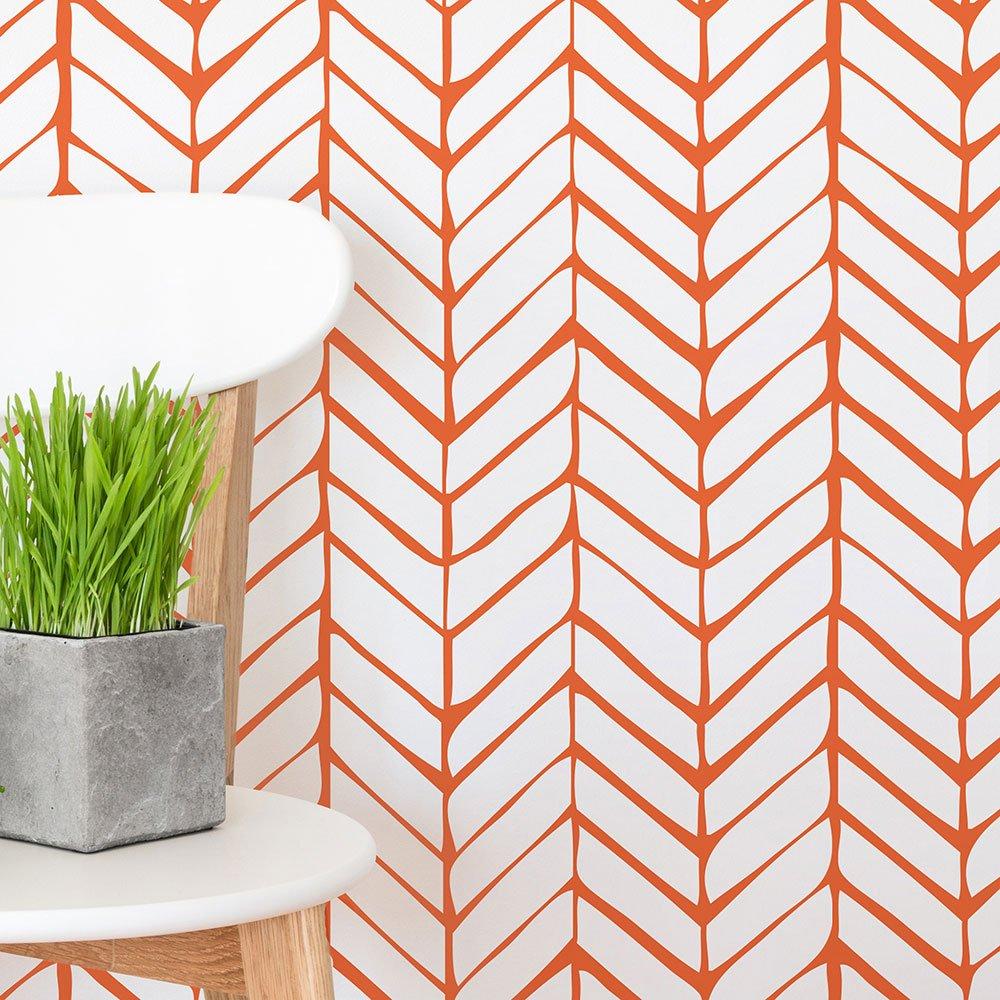 Orange Wall Decals Multicolored AdzifLatte
