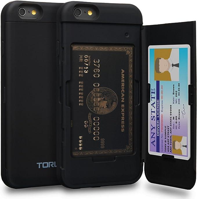 custodia iphone 6 carte di credito