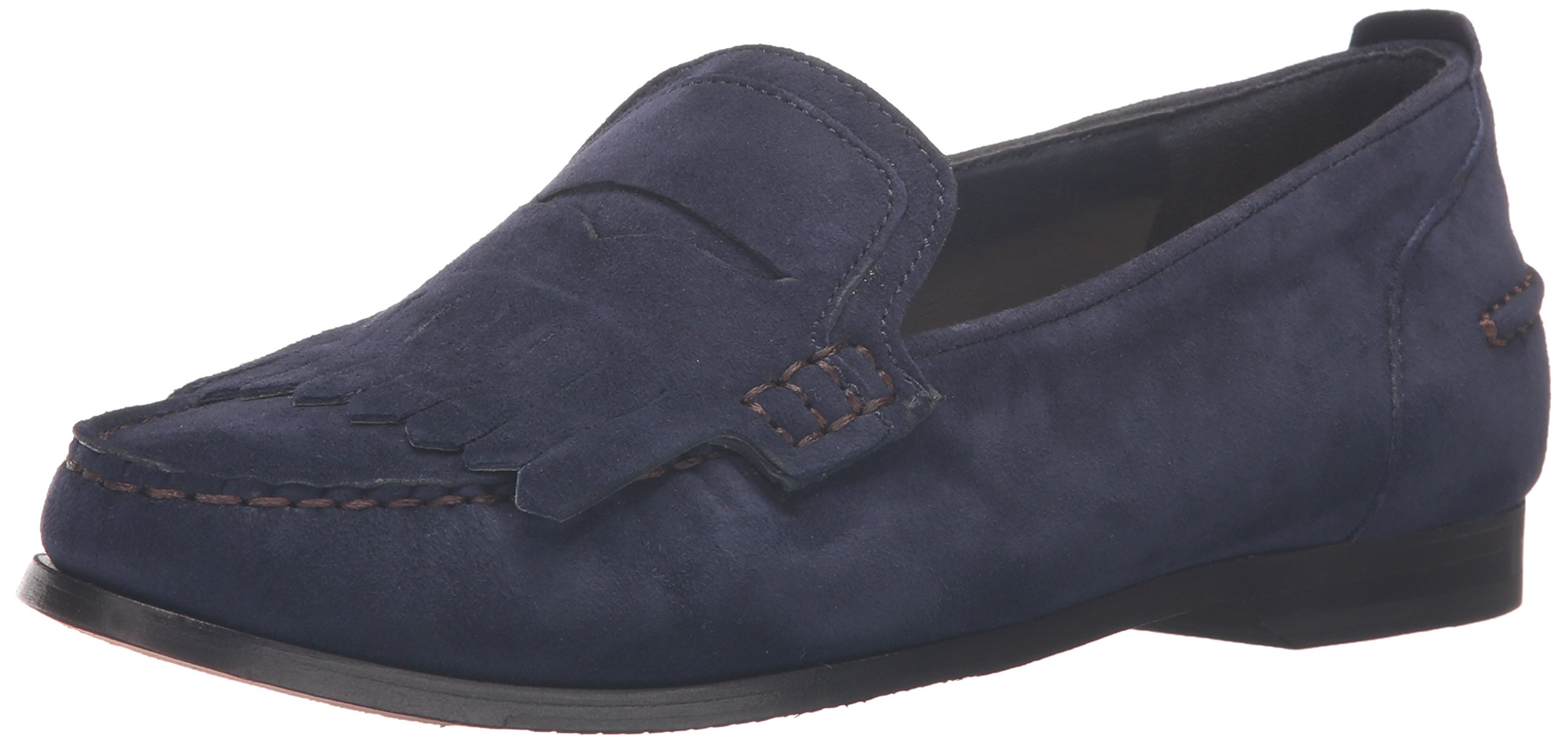 Cole Haan Women's Pinch Grnd Pny Kltie Penny Loafer, Marine Blue Sue, 9 B US