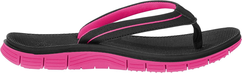 Athletic Works Girls Flip Flops Black
