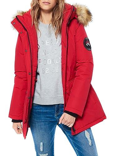 Parka Superdry Everest Rojo XL Rojo