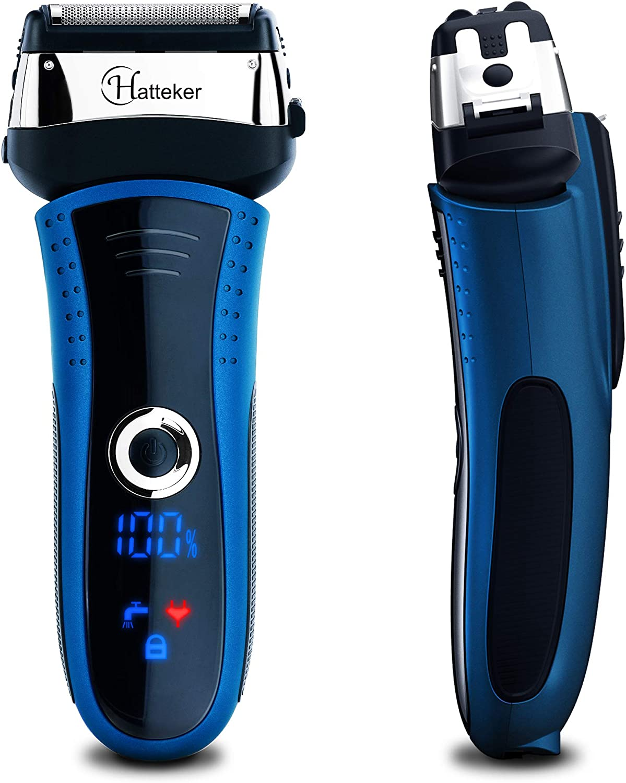 Hatteker - Afeitadora eléctrica para hombre: Amazon.es: Belleza