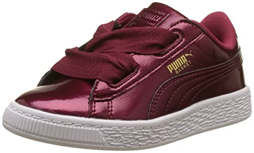 Puma Basket Heart Glam PS, Zapatillas Unisex para Niños: Amazon.es: Zapatos y complementos
