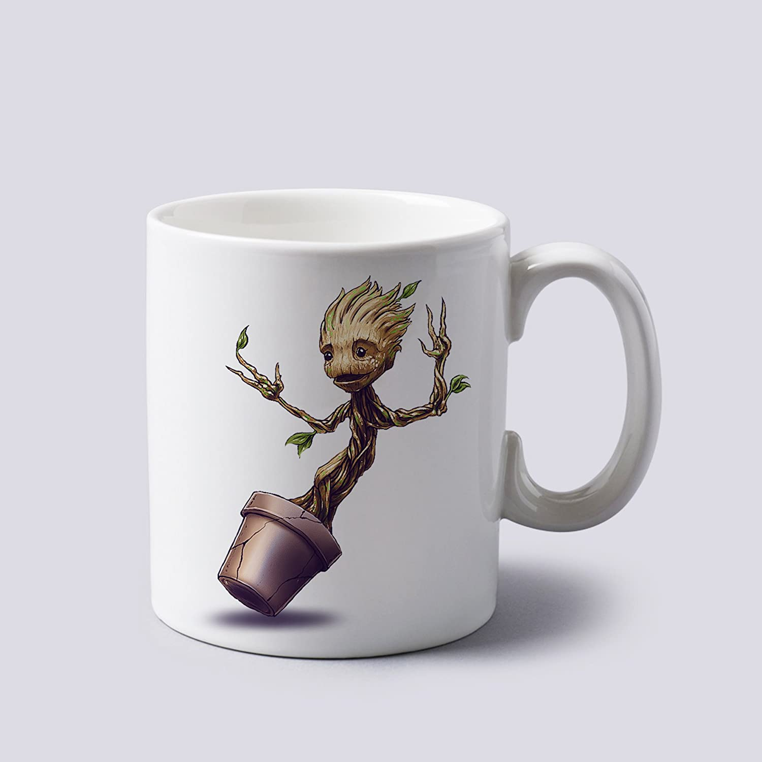 Guardians Of The Galaxy Baby Groot Colour Changing Magic Coffee Mug Cup Gift