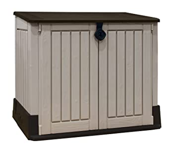 Keter Store It Out Midi Outdoor Plastic Garden Storage Shed, 130 X 74 X 110
