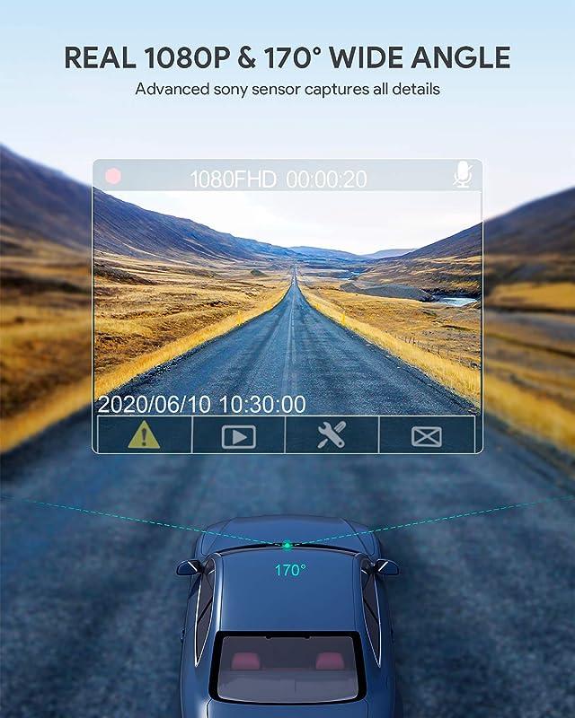 AUKEY Dash Cam FHD 1080p 2