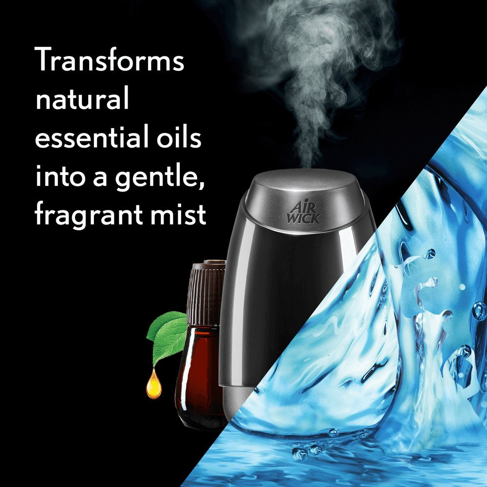 Air Wick Essential Oils Diffuser Mist Refill, Fresh Water Breeze, 3 Count by Air Wick (Image #3)