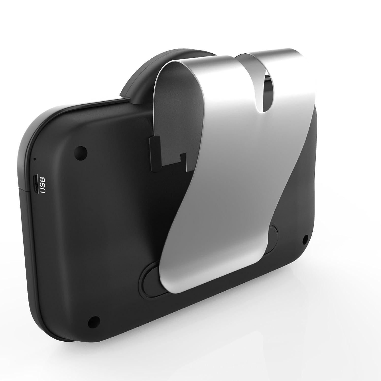 VeoPulse B-PRO 2B Kit Vivavoce per Auto Bluetooth con Accensione e Connessione Automatica per telefonare in Sicurezza e legalit/à al Volante