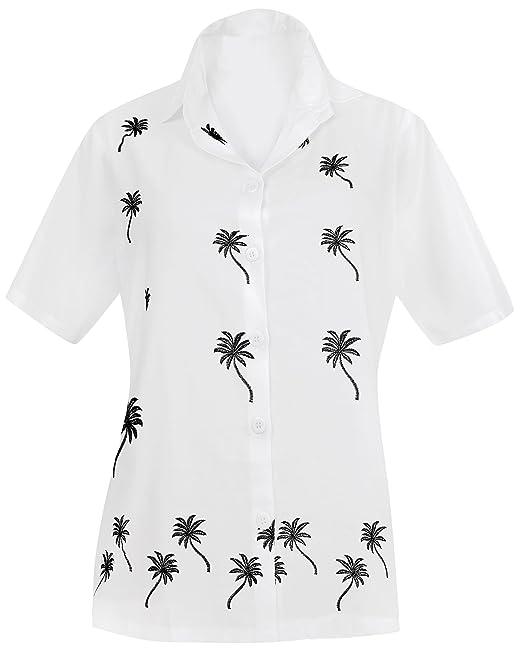 Blusas Camisa Hawaiana relajaron Tirantes Mujeres aptas ...
