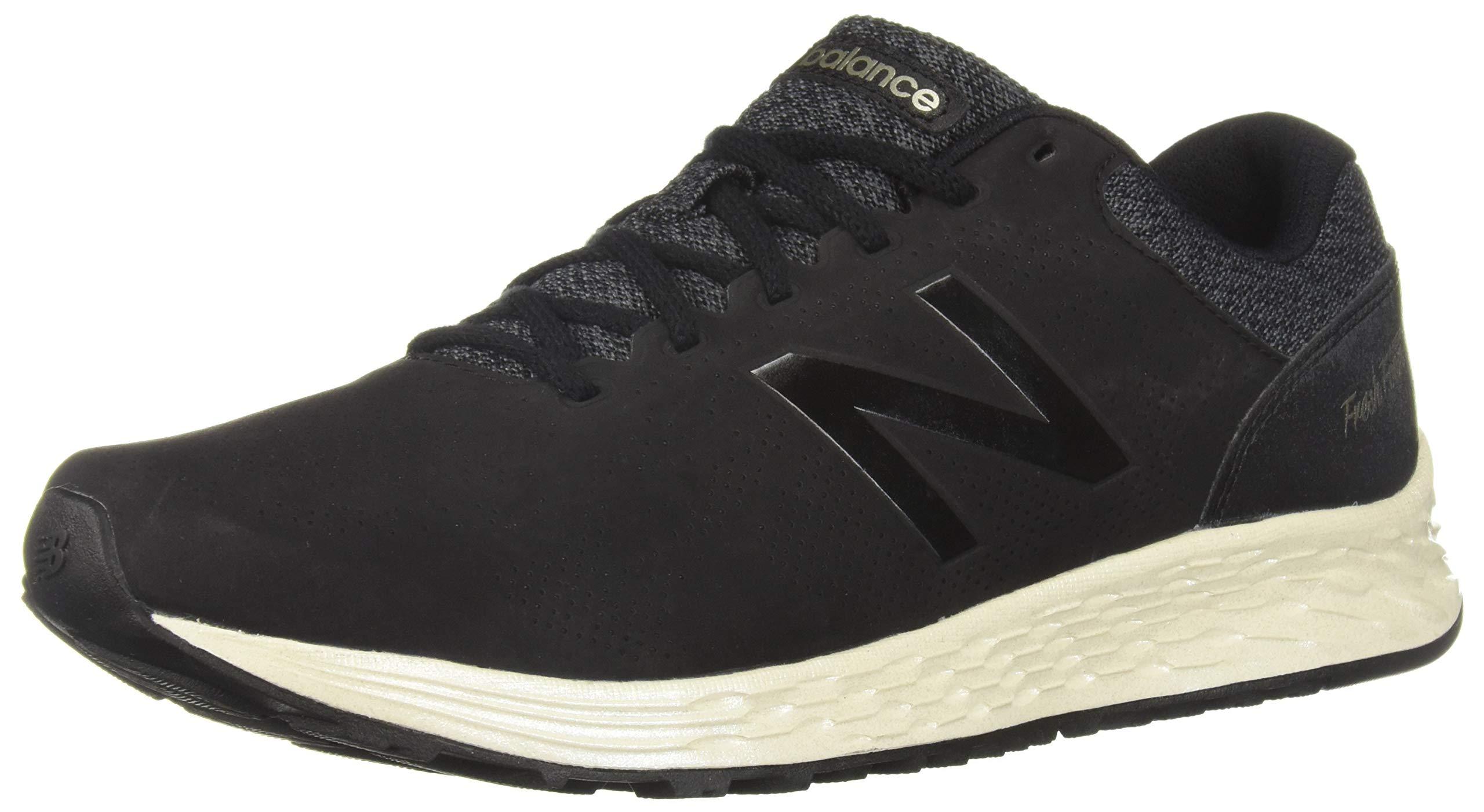 New Balance Women's Fresh Foam Arishi V1 Running Shoe, Black/Magnet/Light Gold/Metallic 5 B US by New Balance (Image #1)