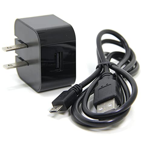 Amazon.com: Mirco Kindle Fire Charger Interior Negro ...