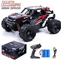 Remote Control Car, 36KM/H High Speed RC Truck, 1/18 Scale 4X4 Off Road-All Terrain 2.4Ghz Remote Control RC Car, 21200mAH Rechargeable Batteries Included for All Adults & Kids