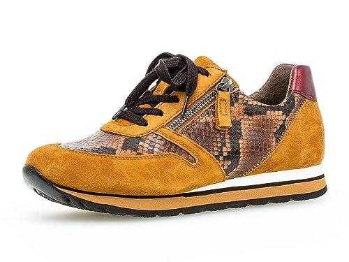 Gabor Damen Sneaker, Frauen Low Top Sneaker,Comfort