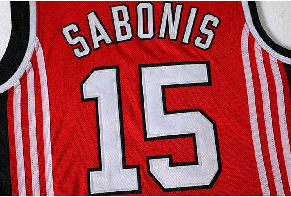 Jugador de Baloncesto Jersey CCCP Sovi/ética Chalecos Tops Camisetas sin Mangas Arvydas Sabonis # 15