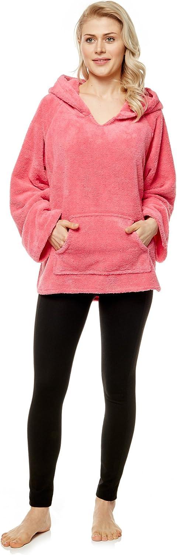 Arus Womens Hooded Pullover Sweater Indoor Outdoor Hoodie Jacket