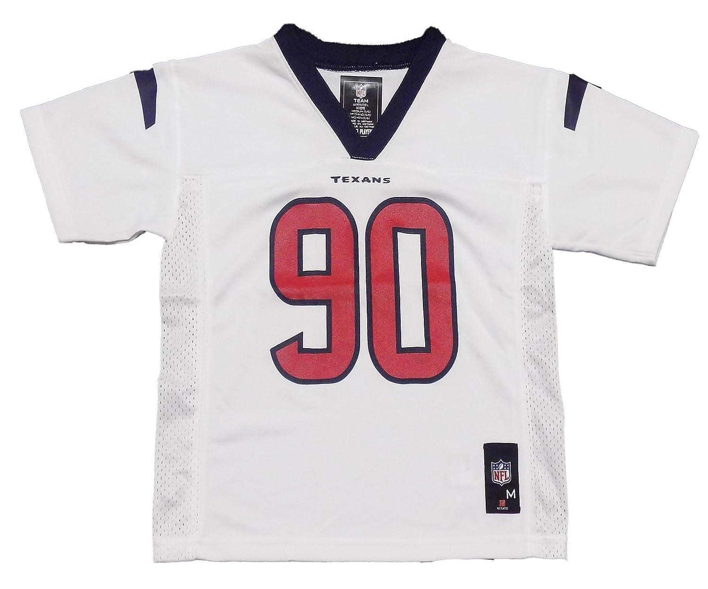 Amazon.com   Outerstuff Jadeveon Clowney Houston Texans  99 White Kids Away  Mid Tier Jersey (5 6)   Sports   Outdoors f8e3df776