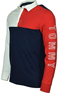 da5410959561 Amazon.com  Tommy Hilfiger Men s Big and Tall Long Sleeve Polo Shirt ...