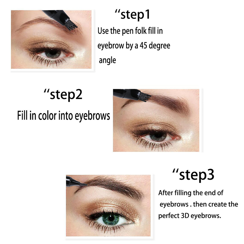 Amazon Ladygo 3d Eyebrow Tattoo Pen Microblading Eyebrow