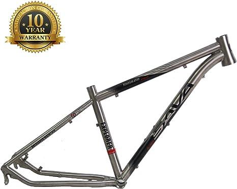 Sava Cuadro de Bicicleta Titanio MTB 26 * 17
