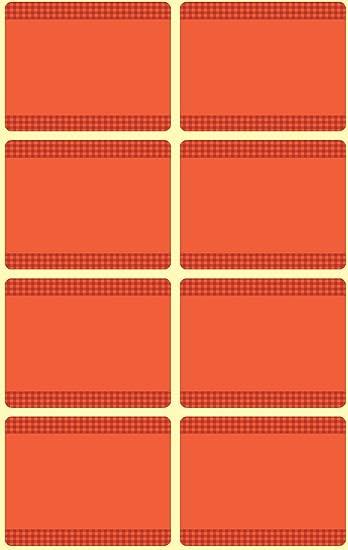 Avery Zweckform Gefrier-Etiketten Tiefkühl Etiketten rot 40 Stück Beschriftung