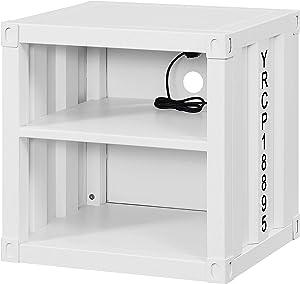 ACME Cargo Nightstand (USB) - - White