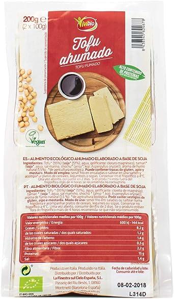 Vivibio Tofu Ahumado, 200g: Amazon.es: Alimentación y bebidas