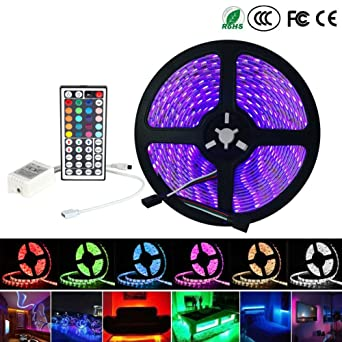Inextstation flexible rgb led light strip 5m164ft 300 units smd inextstation flexible rgb led light strip 5m164ft 300 units smd 5050 waterproof mozeypictures Choice Image