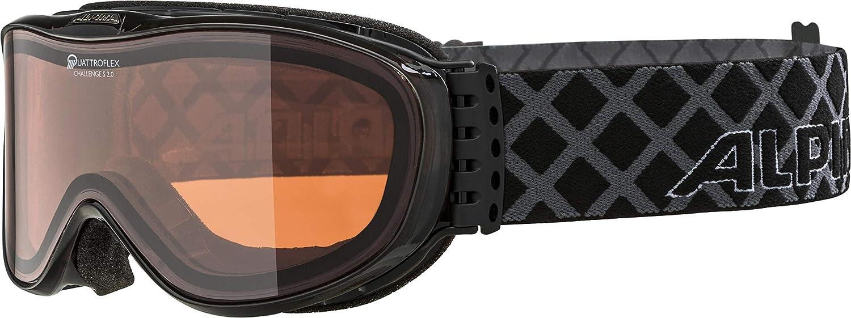 ALPINA Challenge S 2.0 Adult Ski Goggles QH 8419dc3f0ec
