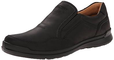 ECCO Men's Howell Slip-On Loafer, Black, 39 EU/5-5.5